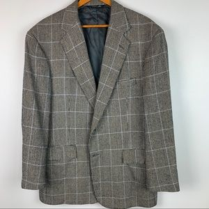 Polo Ralph Lauren Mens 43 R Silk Blazer Sport Coat